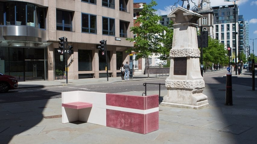 A stone courting bench built for LFA