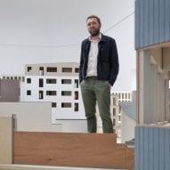 Belgian pavilion curator Dirk Somers