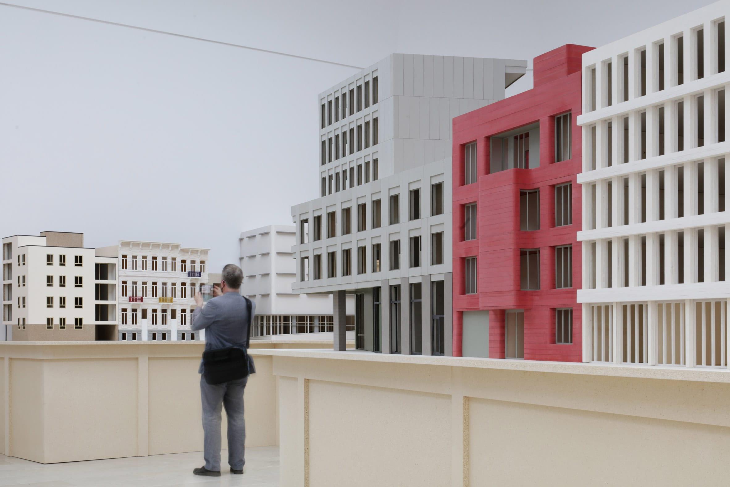 Instalación de la Bienal de Venecia de Bovenbouw Architectuur