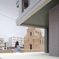 Wooden architectural models