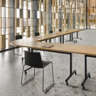 Connect Table system by Gensler for Andreu World