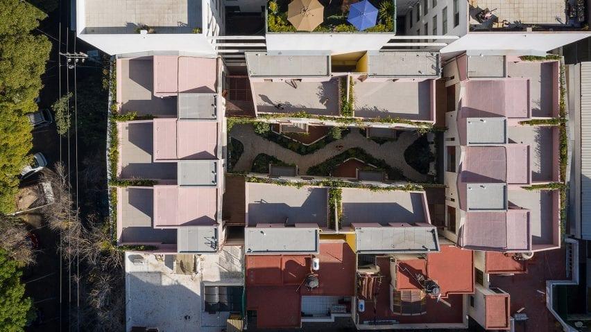 Mexico City apartment building