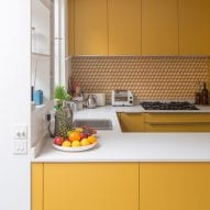 Eight compact U-shaped kitchens designed by architects