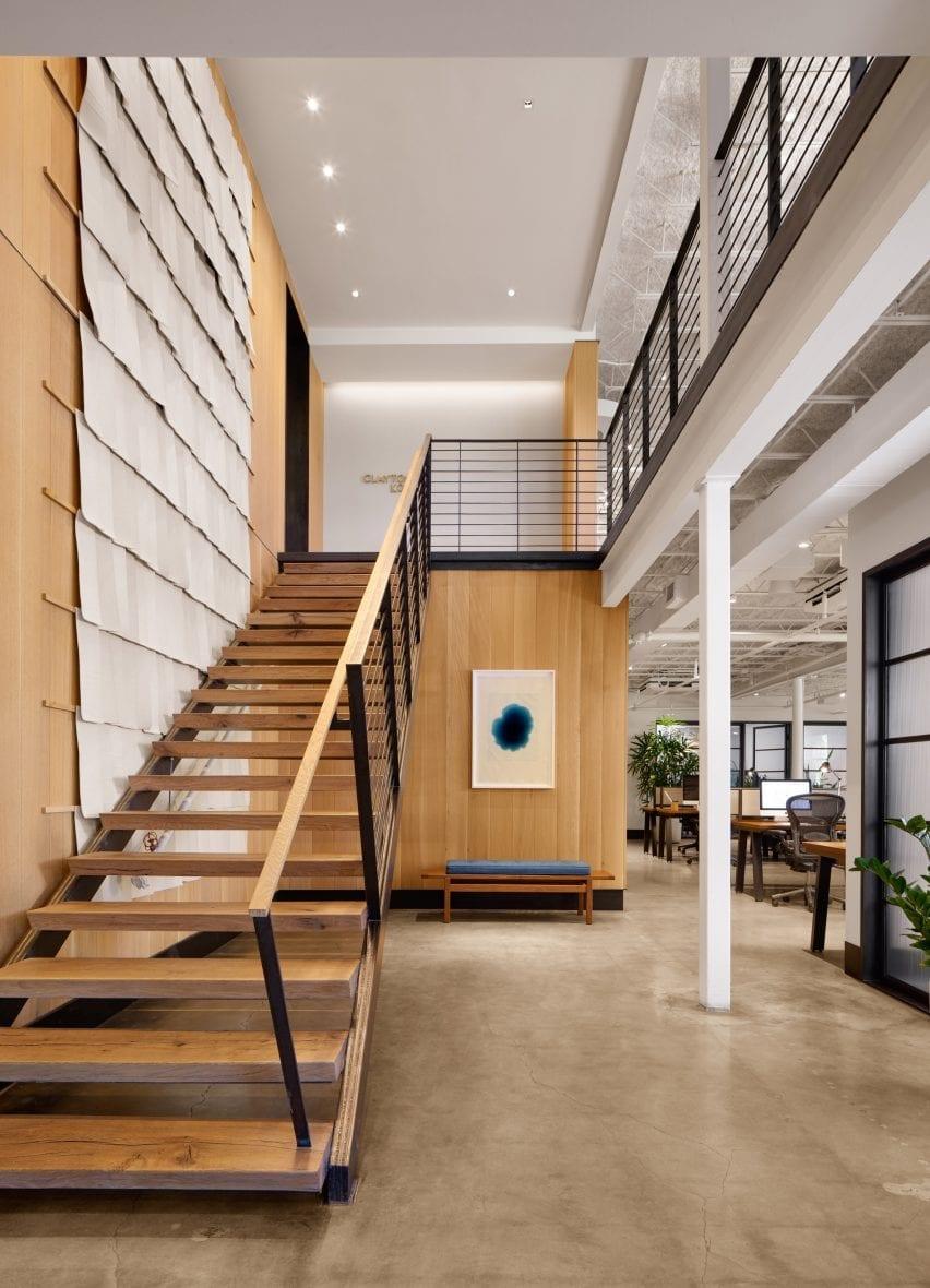 Interior Kantor Desain di Texas