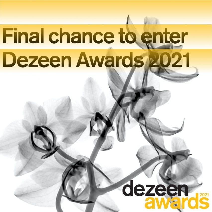 Kesempatan terakhir untuk masuk Dezeen Awards 2021