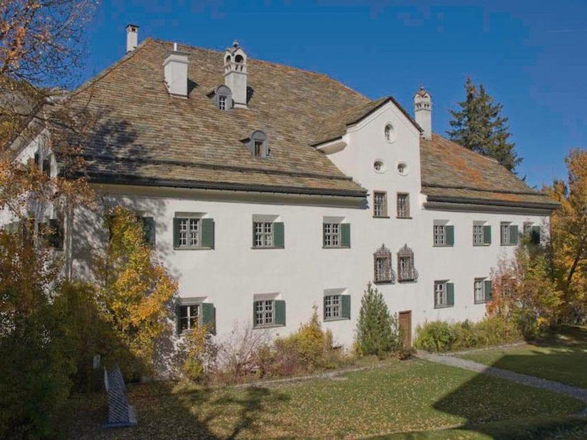 Chesa Planta mansion in St Moritz