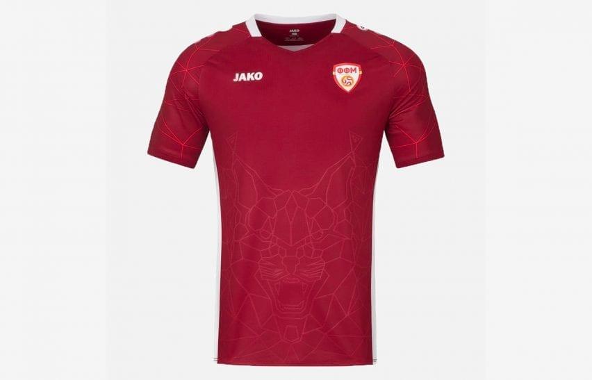 North Macedonia football shirt