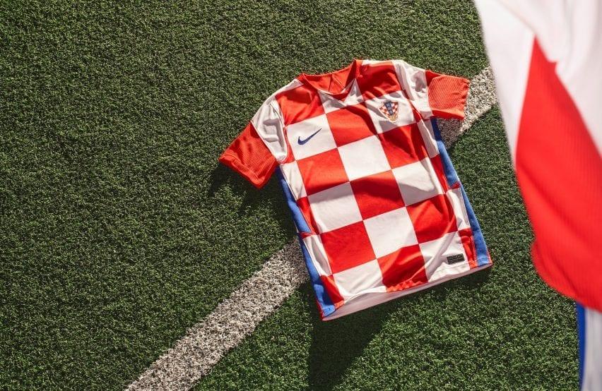 Croatia football kit for Euro 2020by Nike