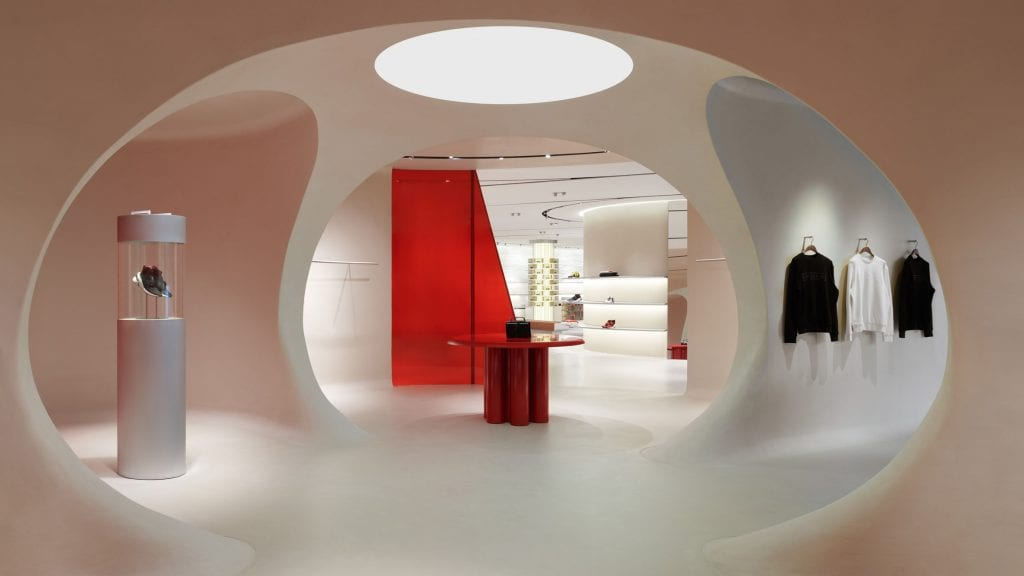 Ferrari unveils glossy lifestyle concept store designed by Sybarite