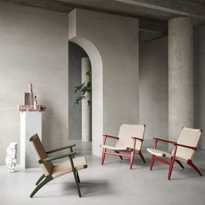 CH25 by Hans J Wegner from First Masterpieces collection for Carl Hansen & Son