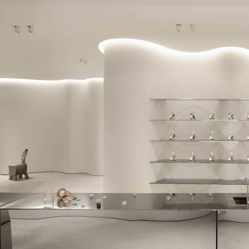 """F.O.G. Architecture creates """"modern cave"""" for ToSummer's Beijing store"""