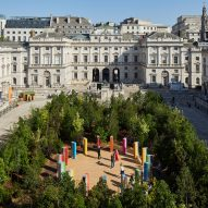 """Es Devlin designs Forest for Change at London Design Biennale as """"a place of transformation"""""""