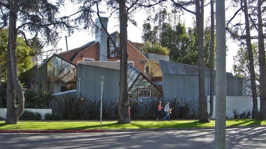 Frank Gehry's Santa Monica home