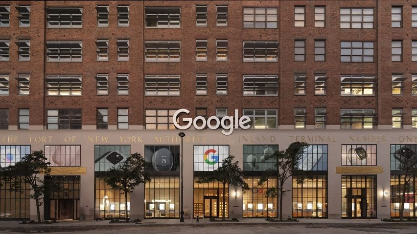 Exterior view of Google Store