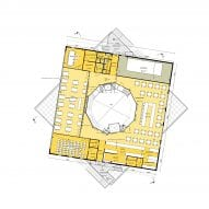 The fourth floor plan of Harbour Experience Centre by MVRDV