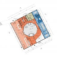 The ground floor plan of Harbour Experience Centre by MVRDV