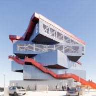 Stacked exhibition spaces to form Rotterdam port visitor centre by MVRDV