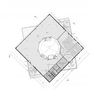 The third floor plan of Harbour Experience Centre by MVRDV