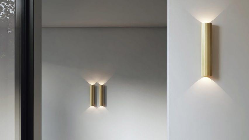 Hashira wall lights by Astro Lighting dezeen showroom