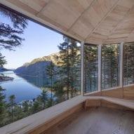 Windows wrap around the cabins