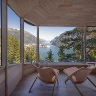 Chairs are positioned overlooking the view