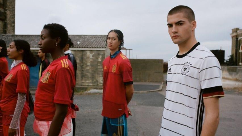Euro football kits
