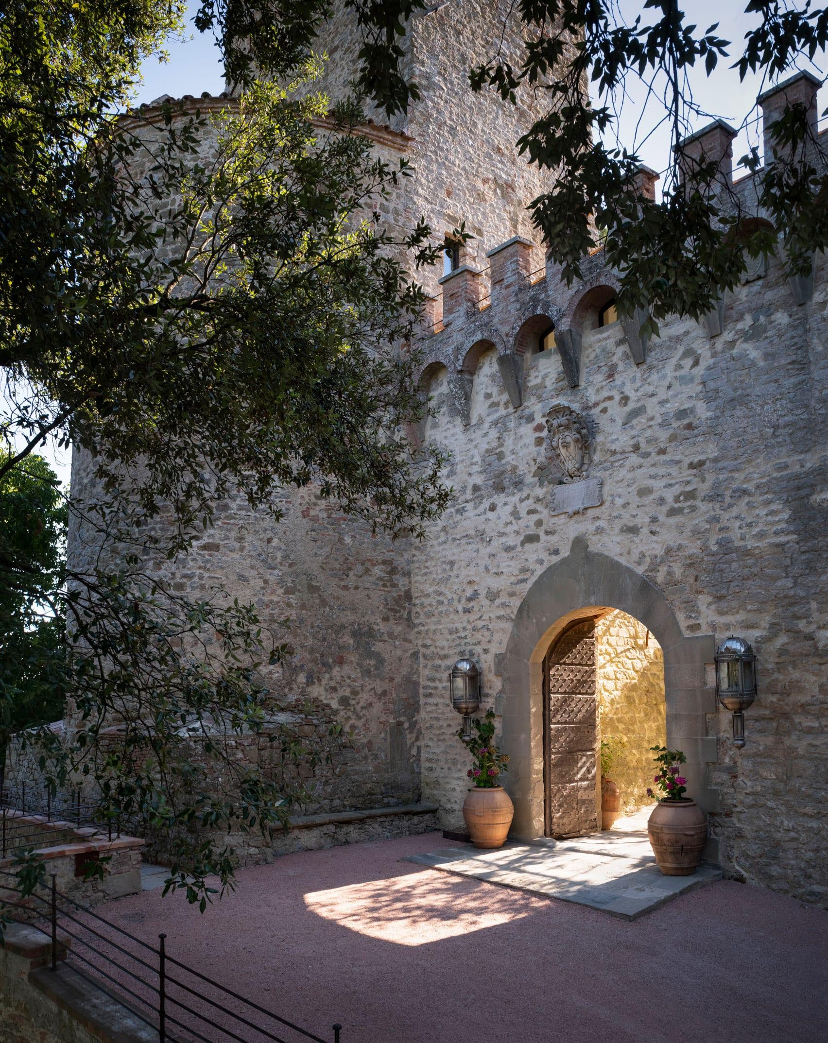 Hotel Castello di Reschio in Umbria