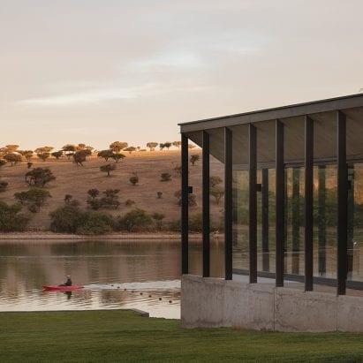 Ignacio Correa lake house in Chile
