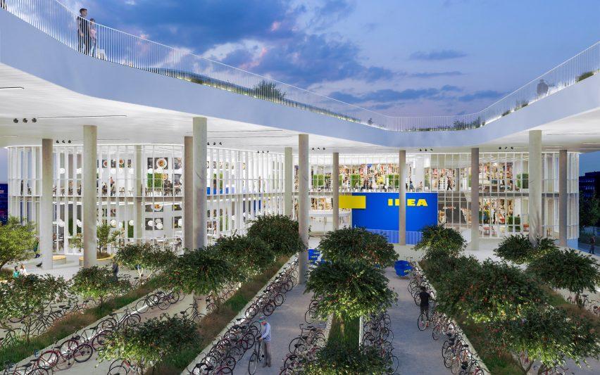 The proposed entrance to IKEA Copenhagen