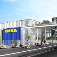 Dorte Mandrup designs IKEA Copenhagen store with rooftop park
