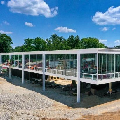Mies Building for the Eskenazi School of Art, Architecture + Design