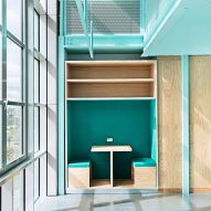 Turquoise study space