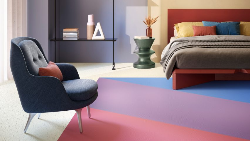 Optimise 70 vinyl flooring collection by IVC Commercial