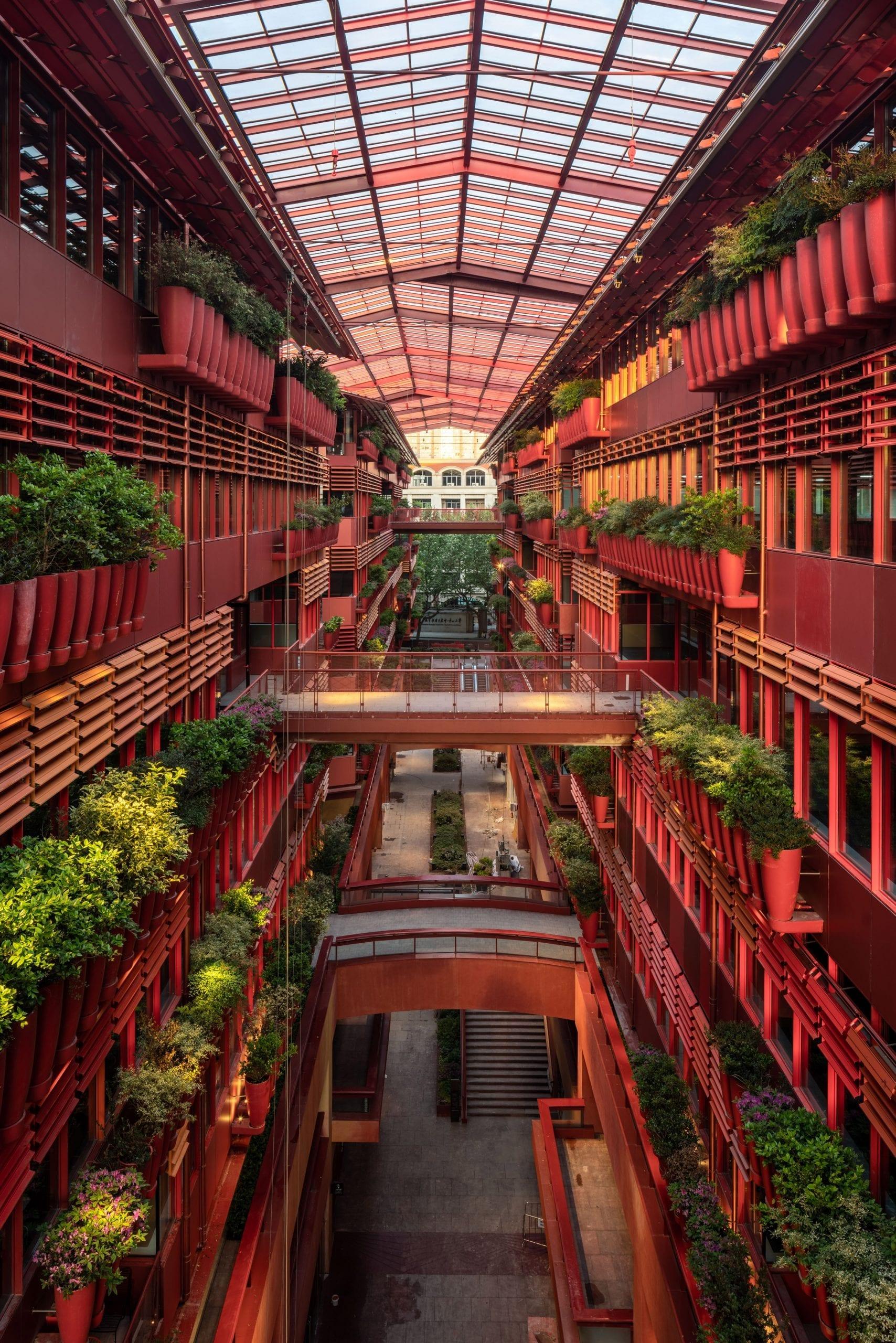 Henderson CIFI Tiandi has a large atrium
