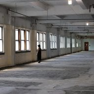 Interior view of the building