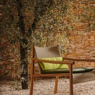 The chairs can be used outdoors