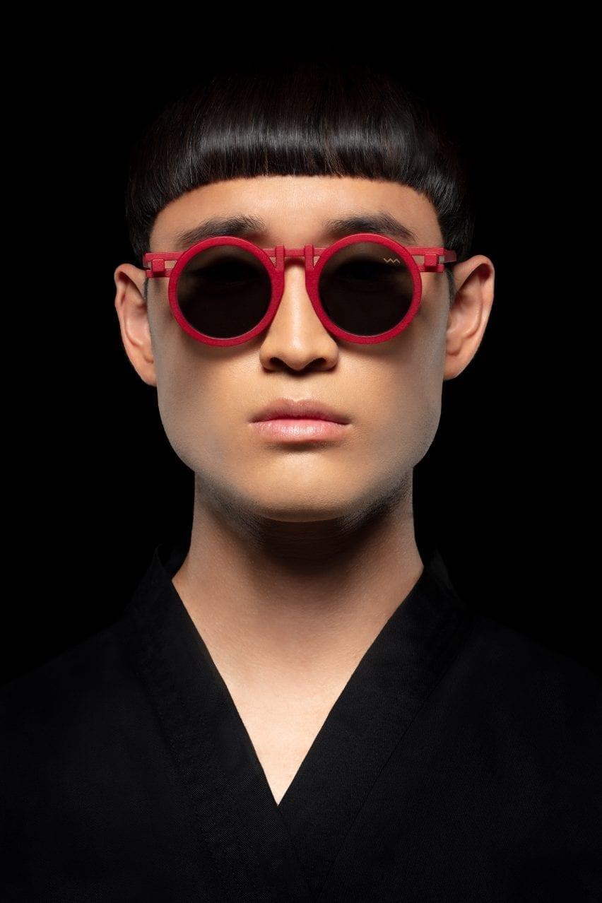 CL0013 sunglasses by Kengo Kuma
