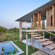 Taliesyn designs open-air living spaces for Ksaraah house in Bangalore