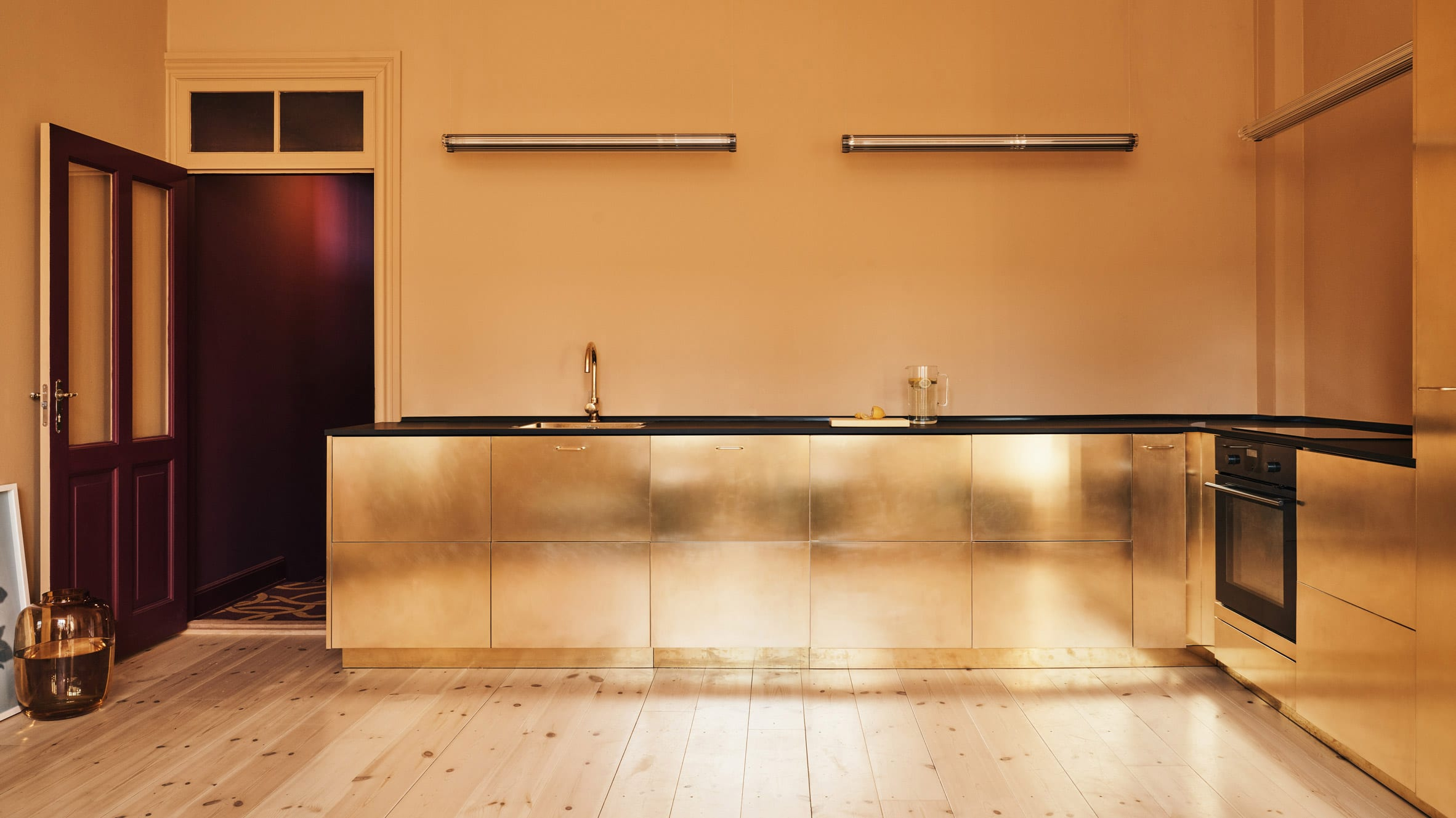 Ikea customised kitchen by Reform