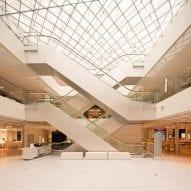 A department store atrium