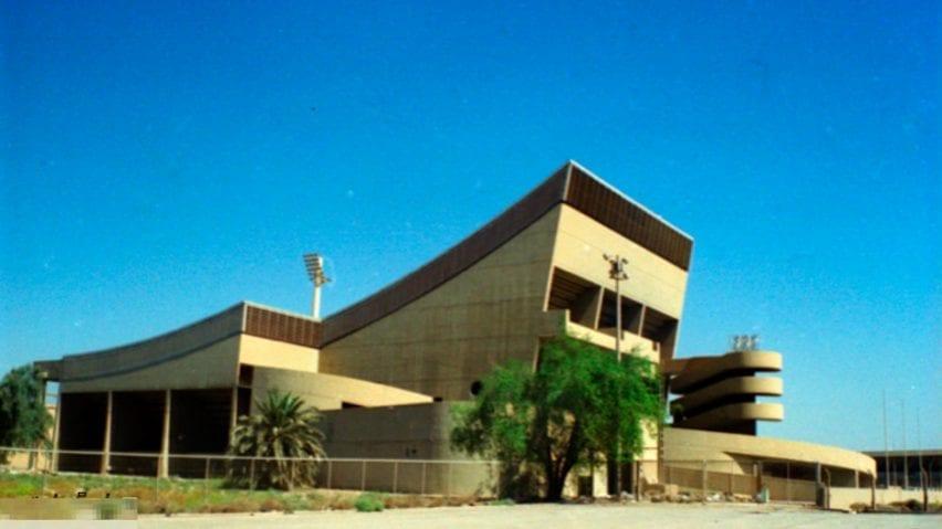 Baghdad Gymnasium in Baghdad, Iraq, by Le Corbusier