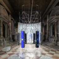 Lithuania virtually sends people to outer space at Venice Architecture Biennale pavilion