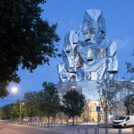 Iwan Baan photographs Frank Gehry's Luma Arles tower