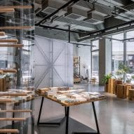 Mumokuteki Concept Bookstore by LUO Studio