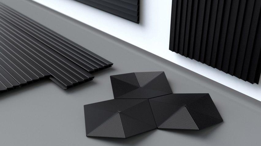 Made of Air biochar plastic panels