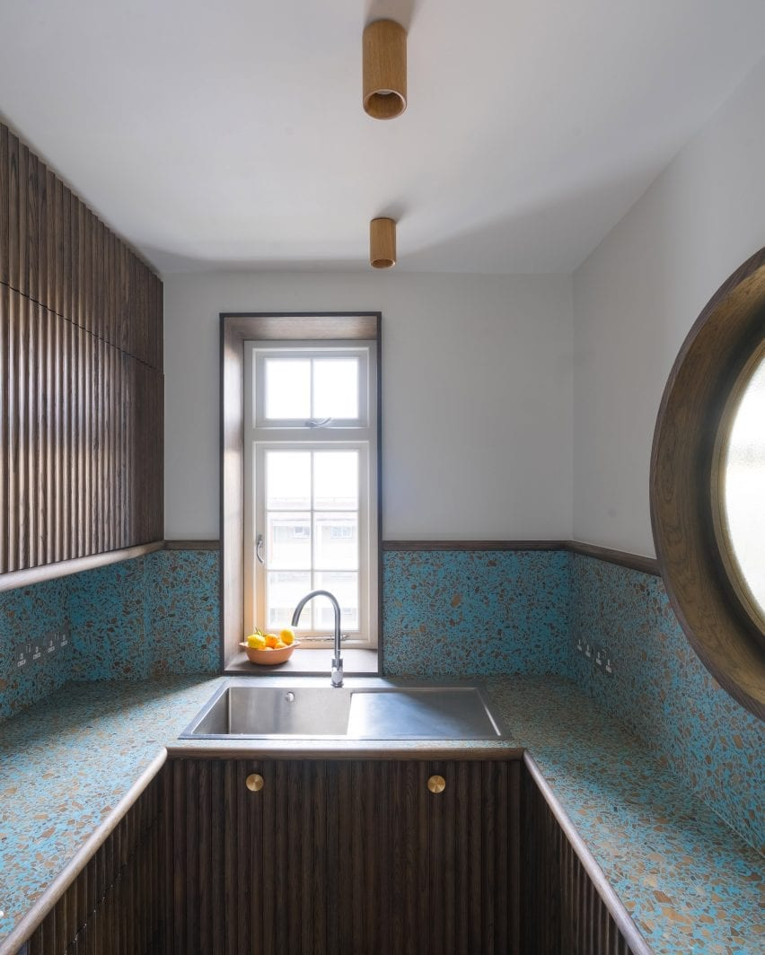 Small architect-designed kitchen