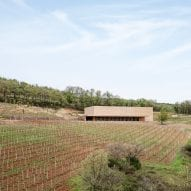 Marc Barani embeds ochre-coloured winery in French vineyard