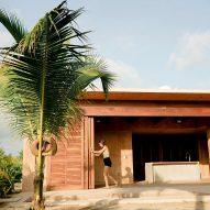Revolution designs coloured concrete Mazul Beachfront Villas in Oaxaca