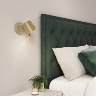 Wall lights can be used for bedside lighting