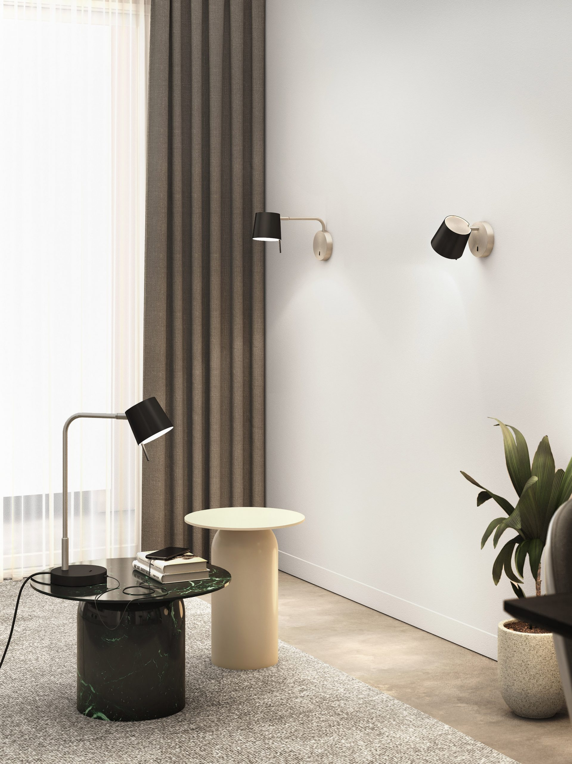 Three different lamp types by Astro Lighting
